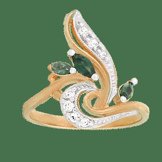 Кільця з позолотою купити в Києві за низькою ціною з доставкою в ... 49fecd4d93d61