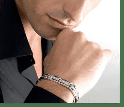 Купить итальянский мужской браслет