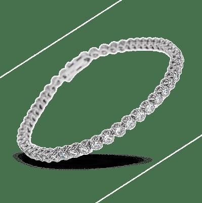 Браслеты с бриллиантами виды