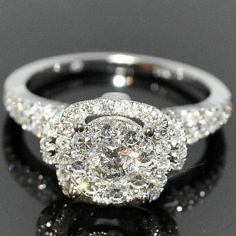 Золотые кольца с бриллиантом. Фото и цены