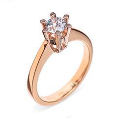 Каблучки на заручини з діамантом купити в Києві за низькою ціною з ... 68011d52209be