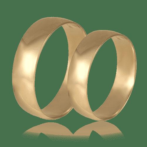 Обручальные кольца фото классика