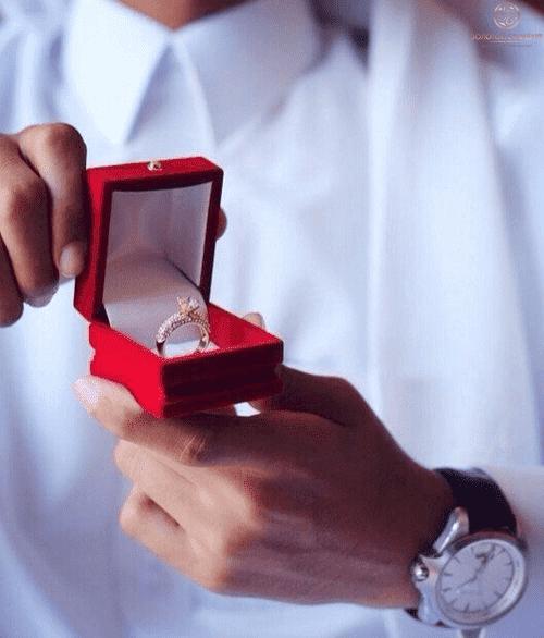 Золотые кольца в подарок любимой