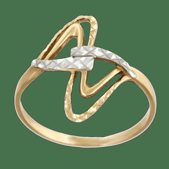виды золотых колец без камней
