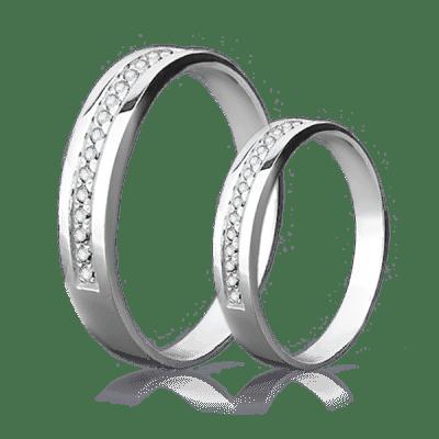 Кольца из белого золота - роскошный символ вашей любви! Обираємо весільні  обручки 88dd122310416